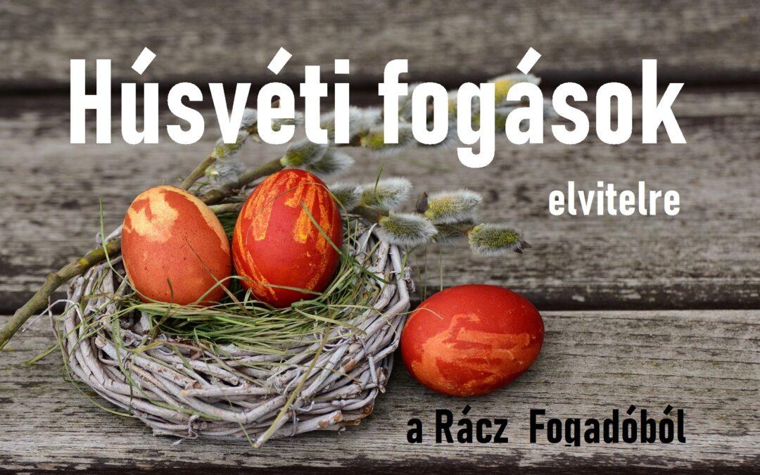 Húsvéti menü a Rácz Fogadóból