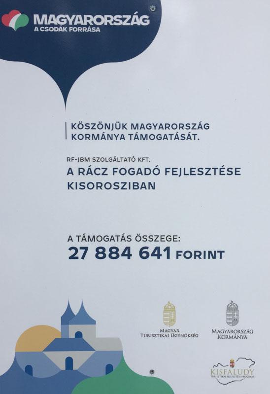 Készült Magyarország kormánya támogatásával.