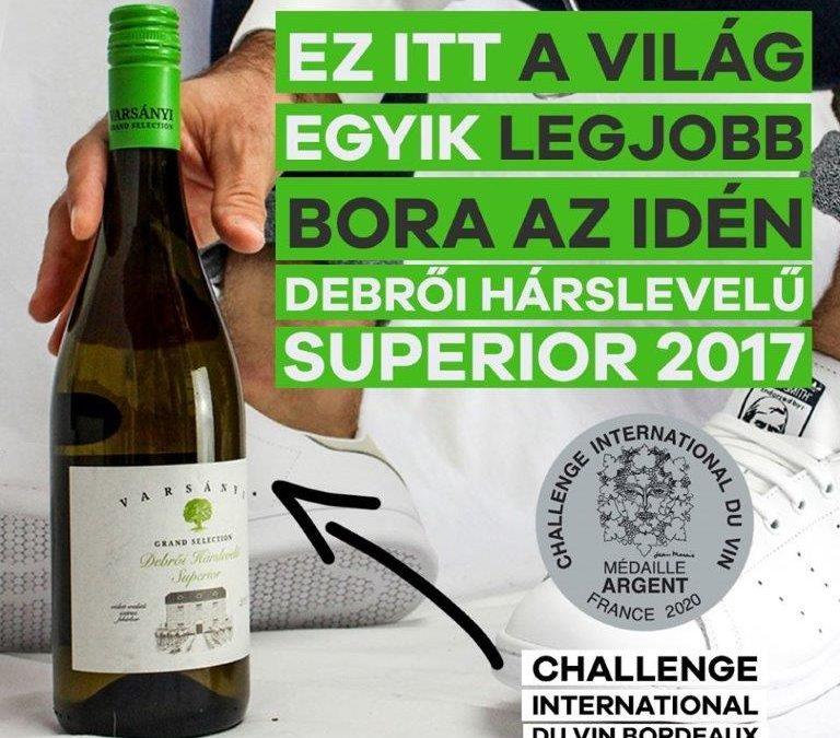 A világ egyik legjobb bora a Rácz Fogadóban!
