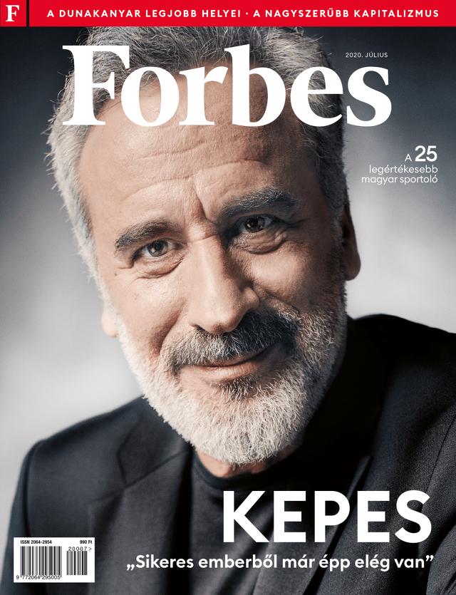 Forbes Magazin - Borító