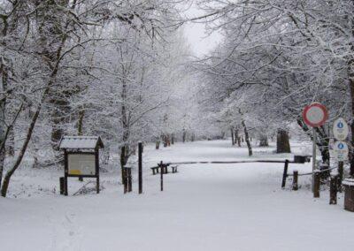 Kisoroszi télen