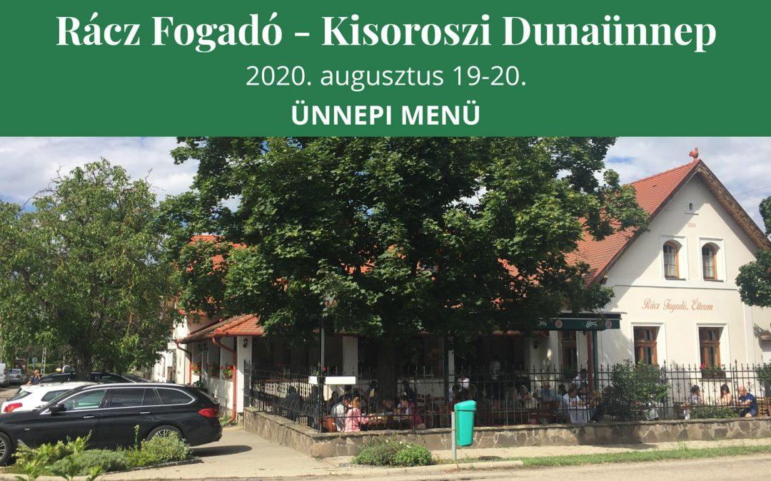 Kisoroszi Dunaünnep 2020. augusztus 19-20.
